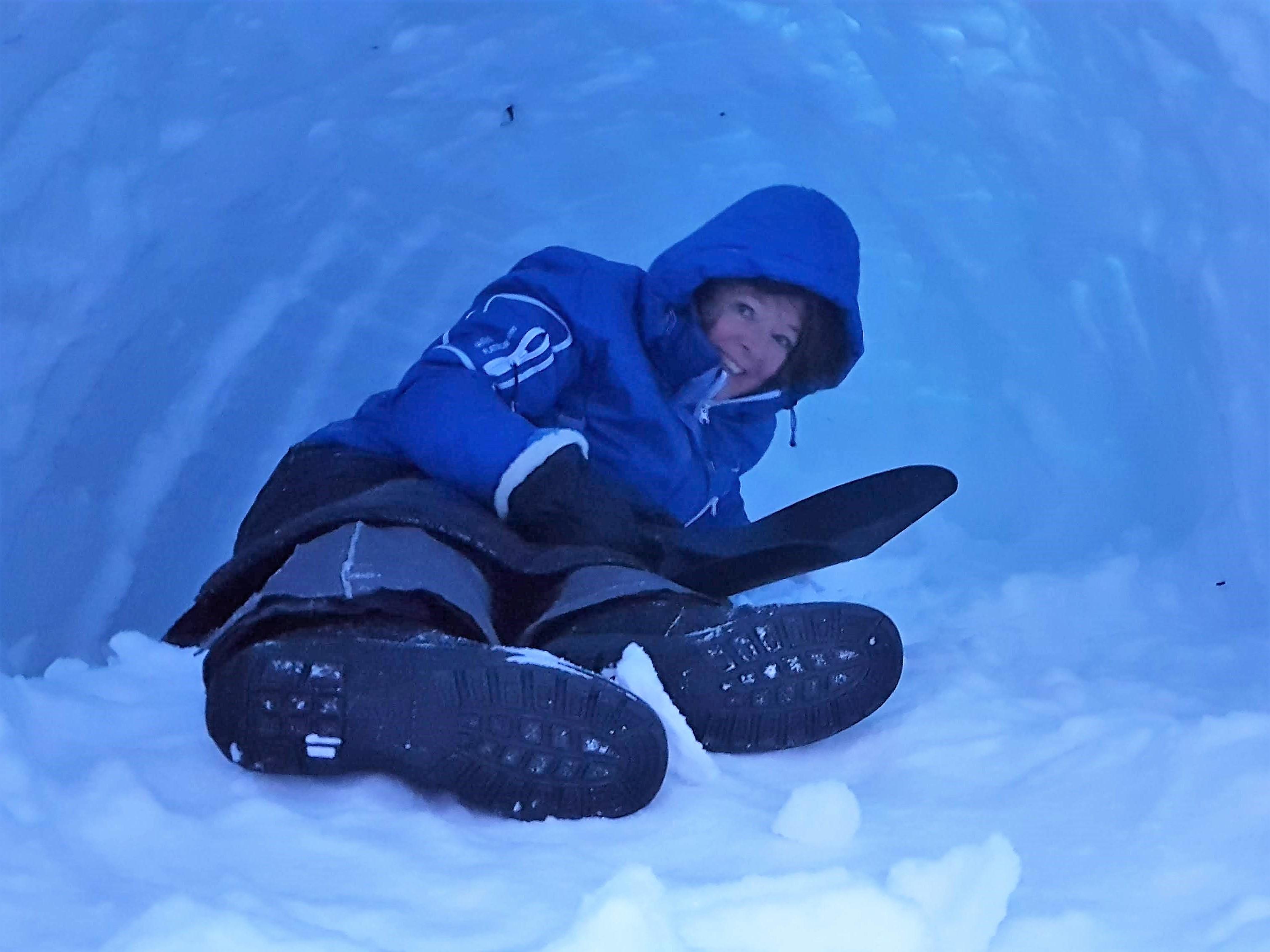Lumikammi kannattaa kovertaa sisältä riittävän korkeaksi