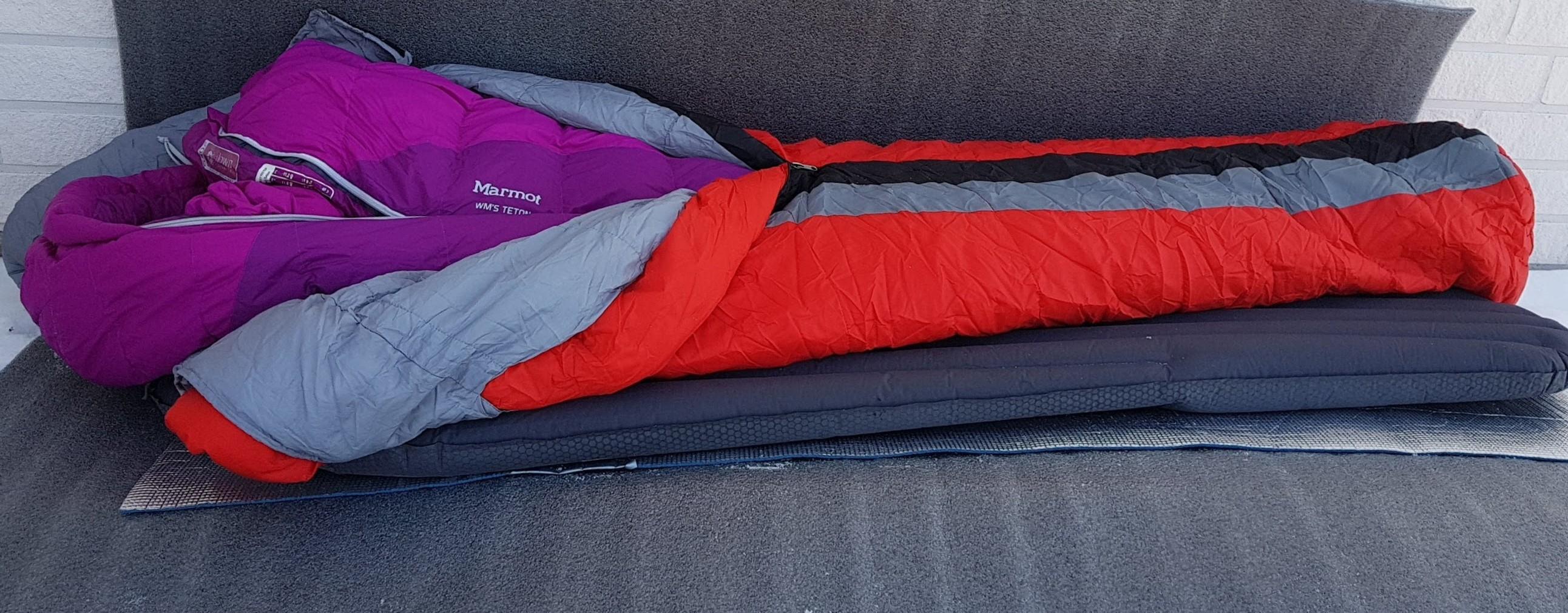 Talviretkeilyssä makuupussin valinta on olennainen
